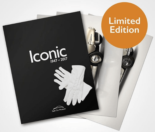 Iconic Book and Gloves