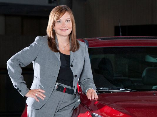 Mary T Barra CEO of GM